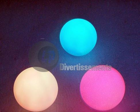 7 colors light<br>ball 7.5cm