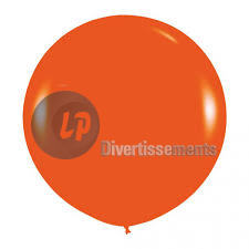 ballon géant 90cm ORANGE