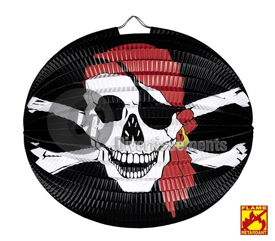 lampion pirate 25cm
